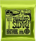 Struny do gitary elektrycznej - zestaw 3 Pack Ernie Ball 3221 10-46
