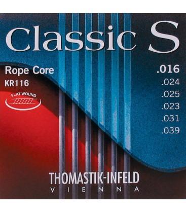 Struny do gitary Thomastik Classic S Rope Core KR116