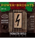 Struny do gitary elektrycznej Thomastik Power Brights Heavy Bottom RP110