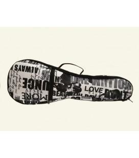 Pokrowiec do ukulele koncertowego Zebra Music UKC12