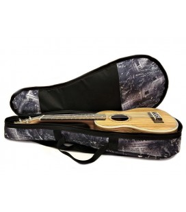 Pokrowiec do ukulele sopranowego Zebra Music UKS16