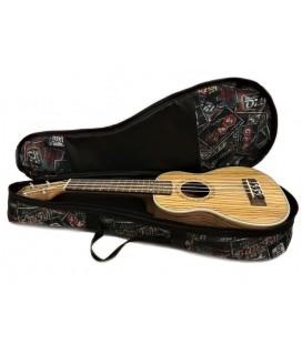 Pokrowiec do ukulele sopranowego Zebra Music UKS15