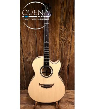 Akustyczna gitara lutnicza Malinowscy Malwood 082/GA/17