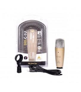 Mikrofon pojemnościowy USB Behringer C-1U