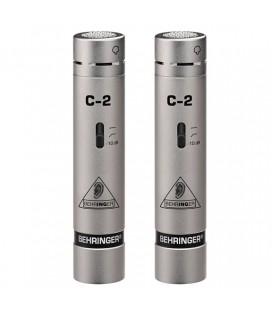 Zestaw 2 mikrofonów pojemnościowych Behringer C-2