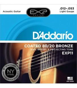 D'Addario EXP11 Bronze 12-53 - struny do gitary akustycznej
