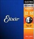Struny do gitary elektrycznej Elixir Nanoweb 10-46 12152