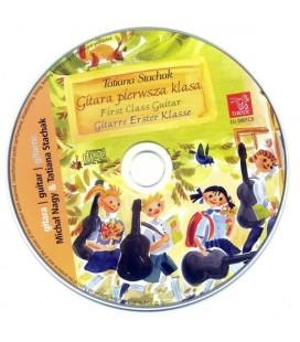 Gitara I Klasa - Tatiana Stachak wydawnictwo Euterpe - Książka + CD