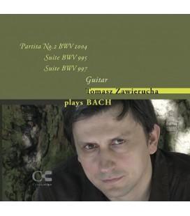 Płyta audio CD - Tomasz Zawierucha Plays Bach - Muzyka Gitarowa