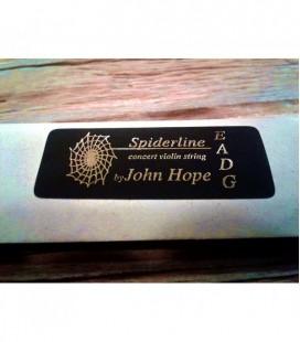 Pojedyncza struna do skrzypiec JOHN HOPE JH0 Spiderline