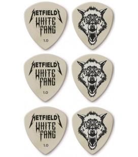 Zestaw 6 kostek Dunlop Hetfield White Fang