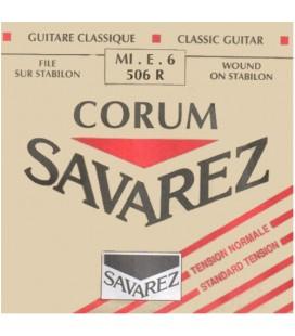 Pojedyncza struna do gitary klasycznej E 6 Savarez SA 506R
