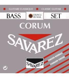 Zestaw 3 strun basowych do gitary klasycznej SAVAREZ Corum 500R NT D4 / A5 / E6
