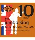 Struny do gitary akustycznej Rotosound Jumbo King JK10 10/50
