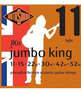 Struny do gitary akustycznej Rotosound Jumbo King JK11 11/52