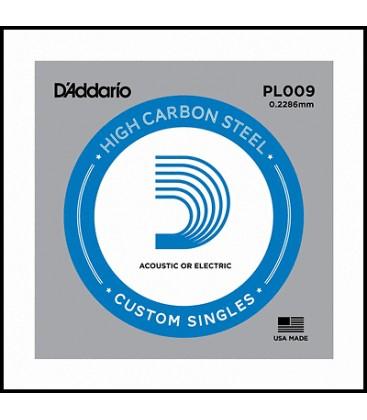 Pojedyncza struna E1 D'Addario PL009 do gitary elektrycznej