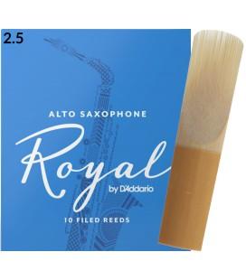 Stroik do saksofonu altowego Rico Royal by D'Addario 2,5