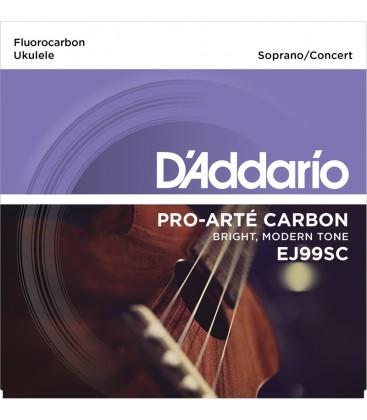 DADDARIO EJ99SC - struny do ukulele sopran, koncert