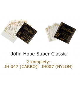 John Hope Super Classic 2 Komplety: JH047 carbo, JH007 nylon