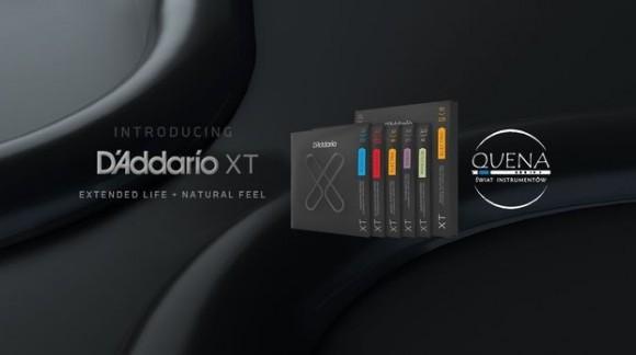 Nowe struny D'Addario XT w nowej technologii wykonania dostępne w sklepie QUENA