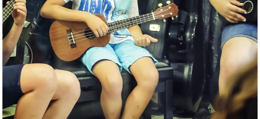 Warsztaty ukulelowe.